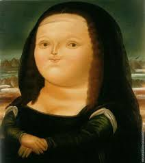 Mona Lisa by Botero
