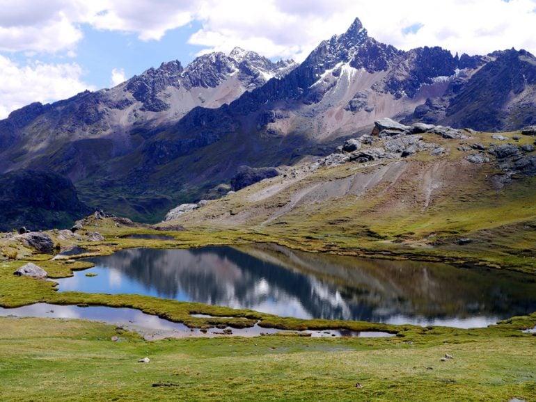 Fantastic scenery on Ausangate trek, Peru