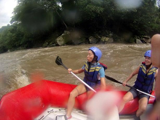 Alya, whitewater rafting, Rio Suarez near San Gil