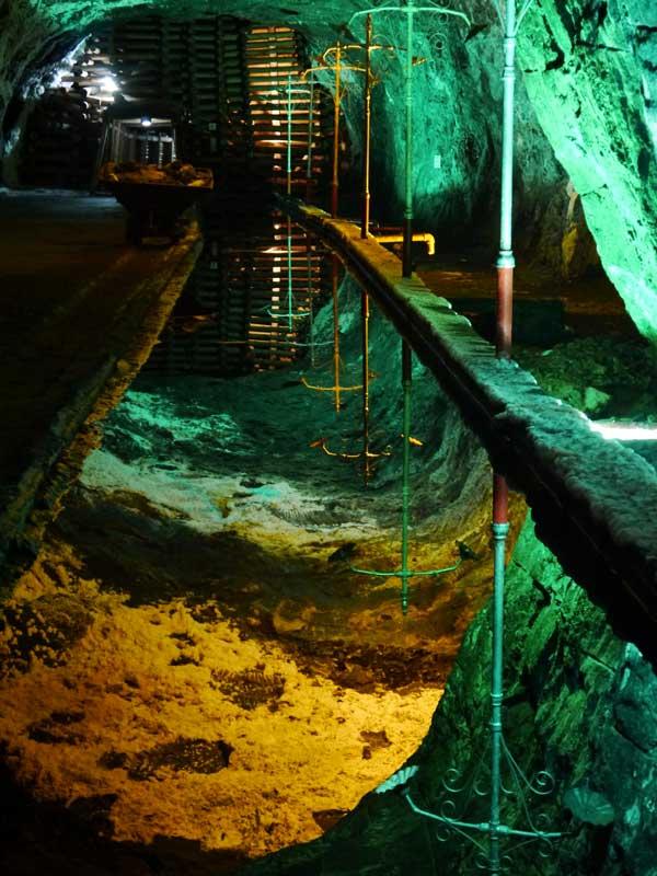 The beautiful Nemocon Saltmine, this was the location where they filmed the Antonio Banderas movie, 33.