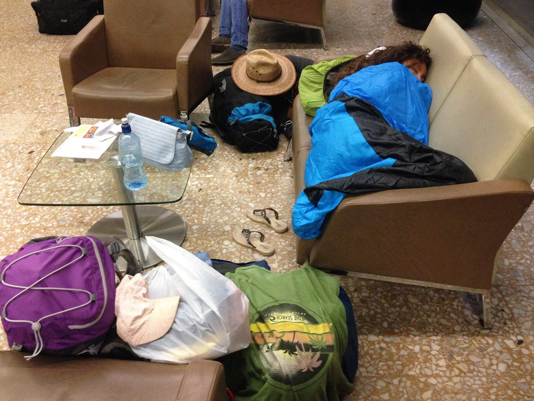 Camping in Medellin airport Backpacking Colombia Guide