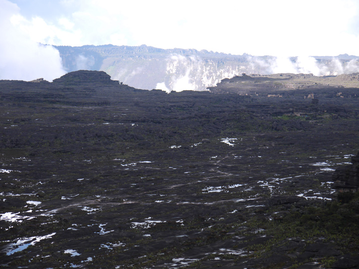 Maverick, the highest point of Mount Roraima