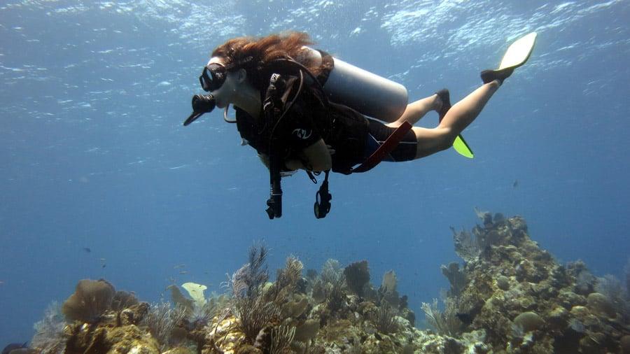 Scuba diving Roatan Island Honduras