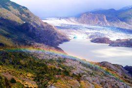 El Chico glacier, Patagonia, Chile