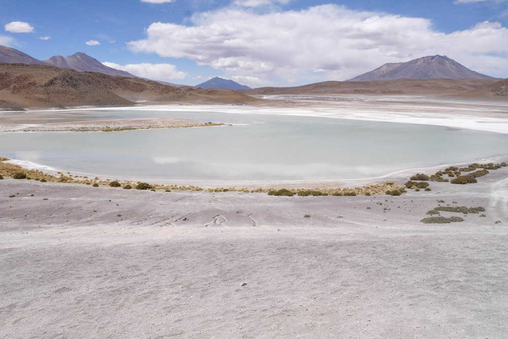 Laguna Blanca, the white lake