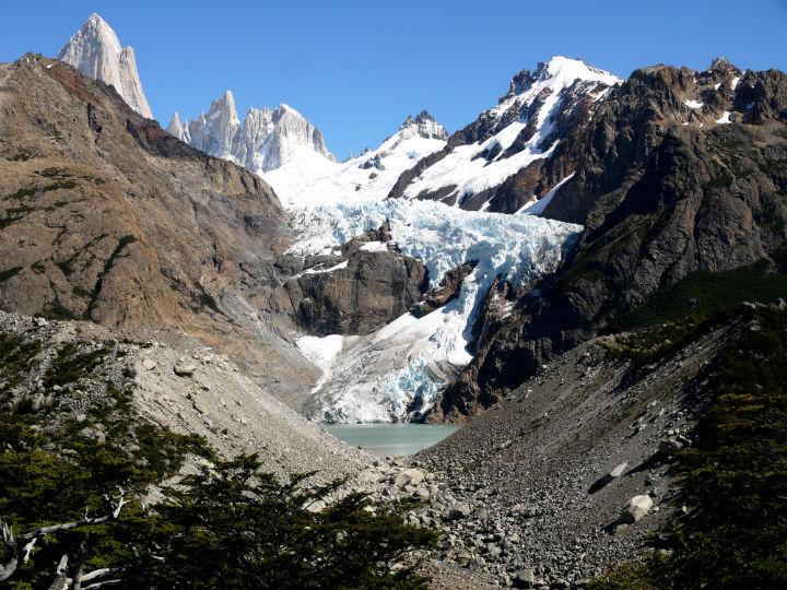 Glacier Piedras Blancas El Chalten Trekking Guide