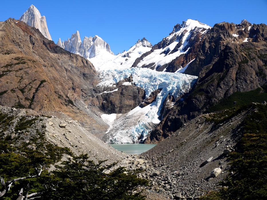 Glacier Piedras Blancas, El Chalten, Argentina