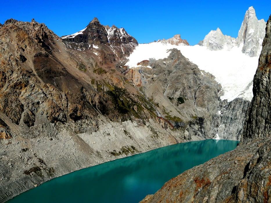 Laguna Sucia, Los Glaciares National park, El Chalten, Argentina