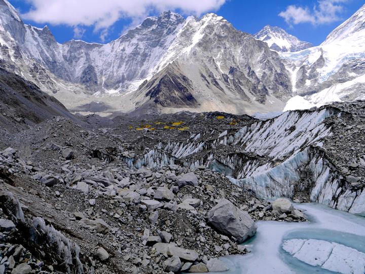 Everest base camp trek, Nepal. Top 5 hikes