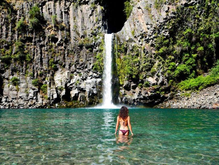 Siete Tazas national park, Chile