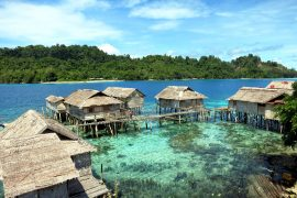 Kadidiri, a Bajua people village near The Togean Islands.