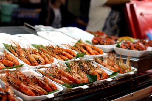 King size prawns, Amphawa