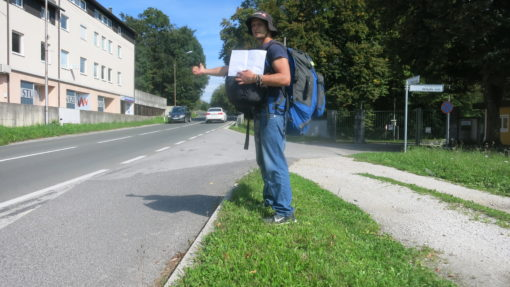 Hitchhiking slovenia