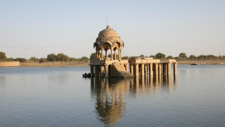 travel rajasthan Gadisar Lake, Jaisalmer