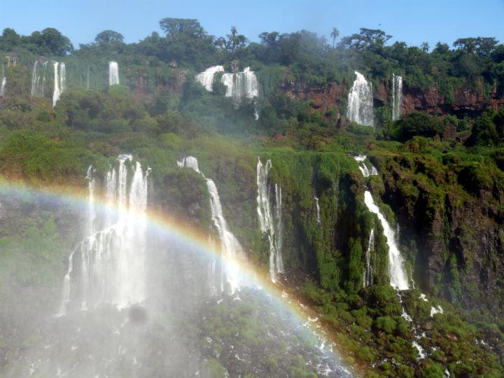 Awesome panoramic views on the Argentinian side of the falls.