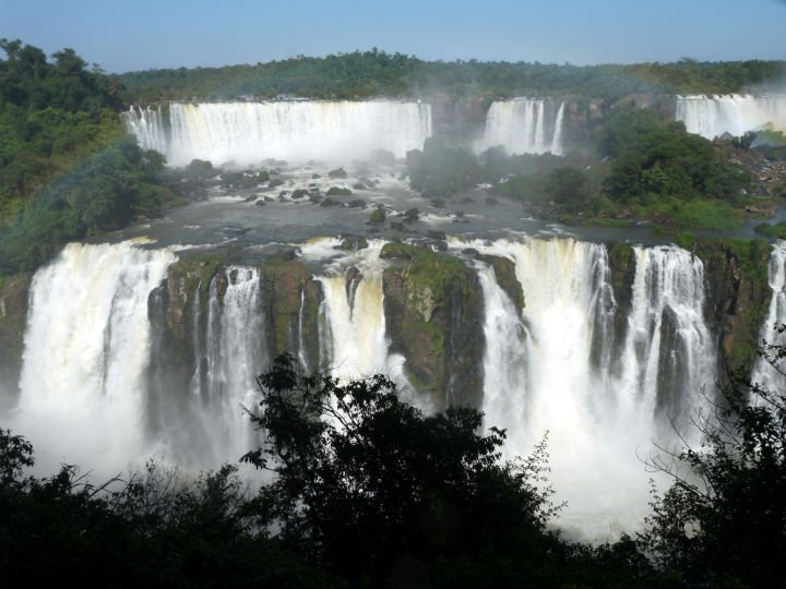 On the Brazilian side of Foz do Iguacu.