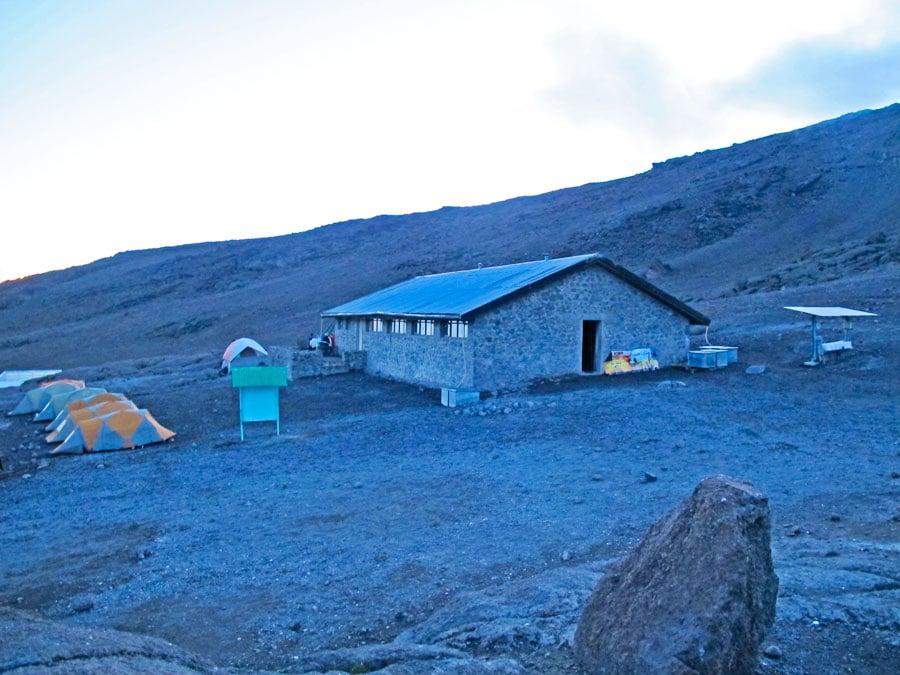 kibo-hut-kililmanjaro