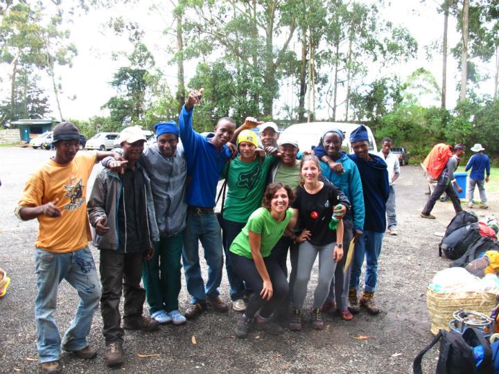 Our climb Kilimanjaro team.