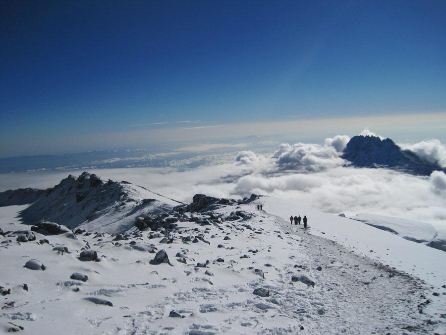 scenery on Kilimanjaro