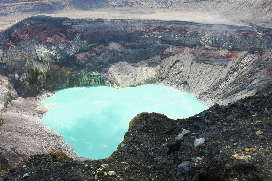 Santa Ana volcano in Parque National Los Volcanes.