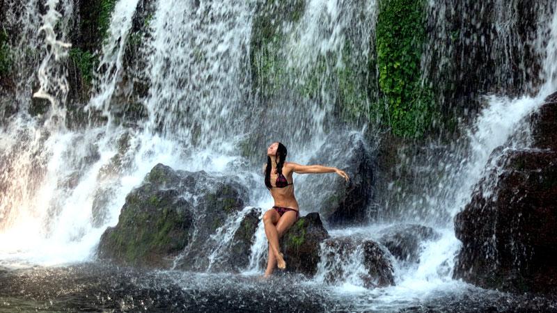 El Salvador Juaya waterfalls, Los Chorros De Callera