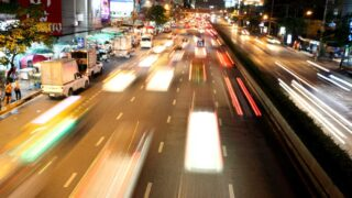 Night streets of Bangkok. Bangkok city guide
