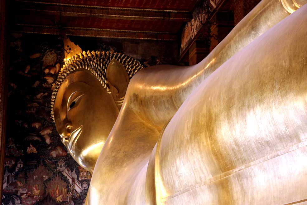 Reclining Buddha, Wat Po, Bangkok city guide