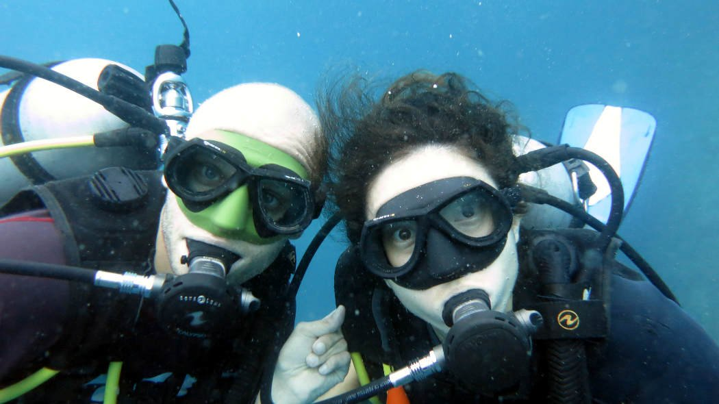 Diving Perhentian Stingy Nomads, Malaysia