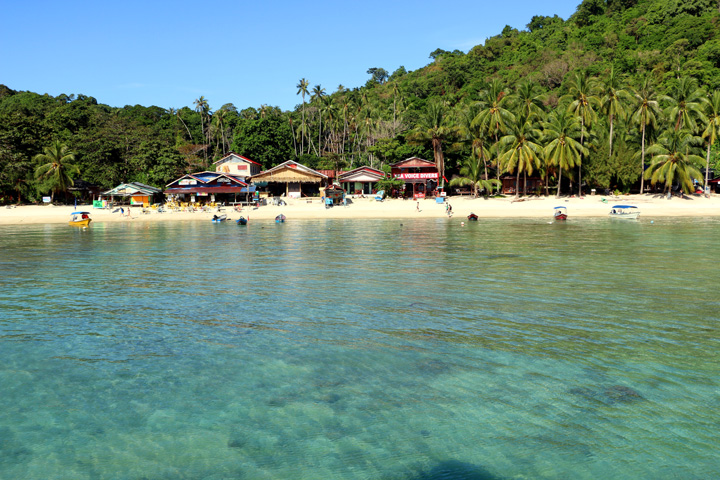Coral Bay beach, Perhentian Kecil