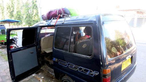 Bus from Mataram to
