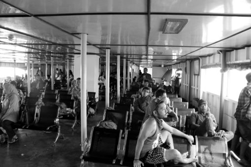 On the ferry from Sape to Labuan Bajo