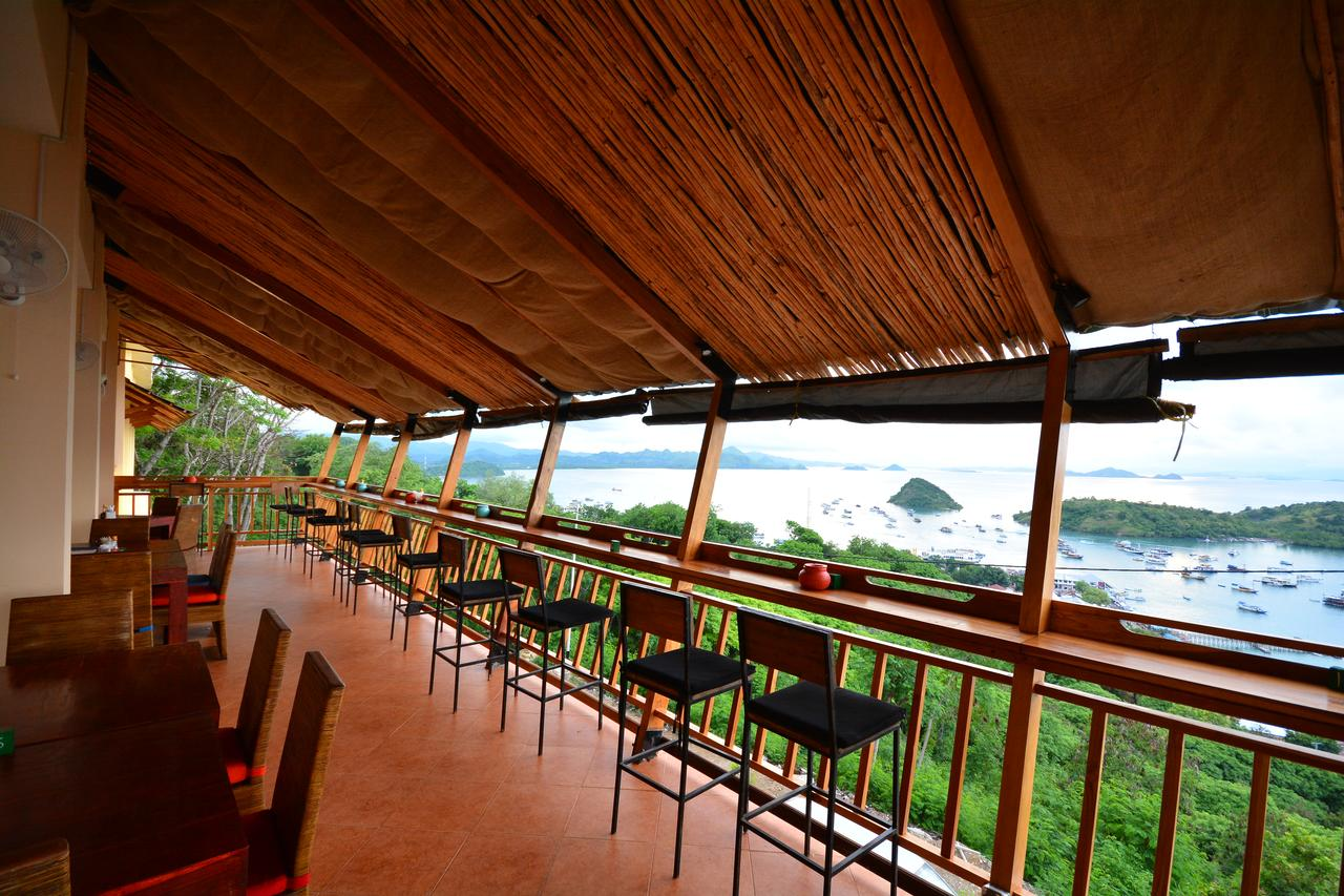 Terrace at Ciao Hostel, Labuan Bajo, Flores, Indonesia