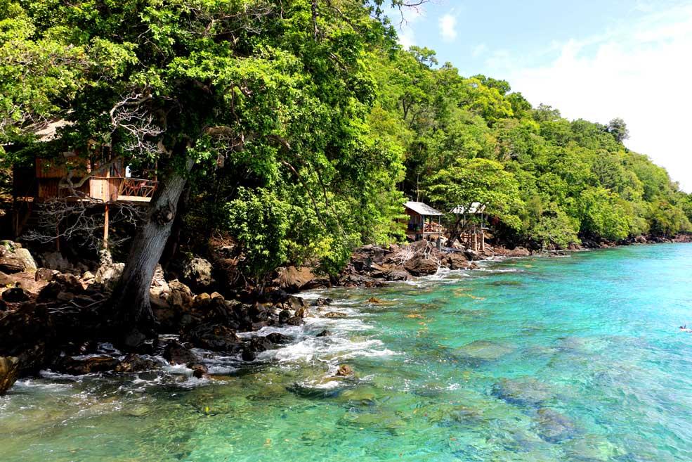 Bungalows at Iboih beach, Pulau Weh island
