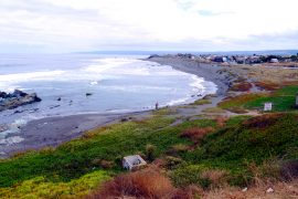 Pichilemu surfing capital of Chile.
