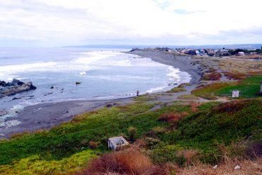 Pichilemu surfing capital of Chile.