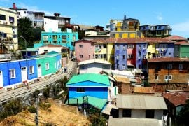 Valparaiso, the art capital of Chile