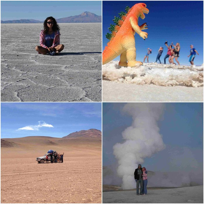 Bolivia -The Uyuni Salt desert was one of the highlights of South America! South America travel budget