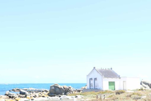 The beautiful town of Jacobsbaai.