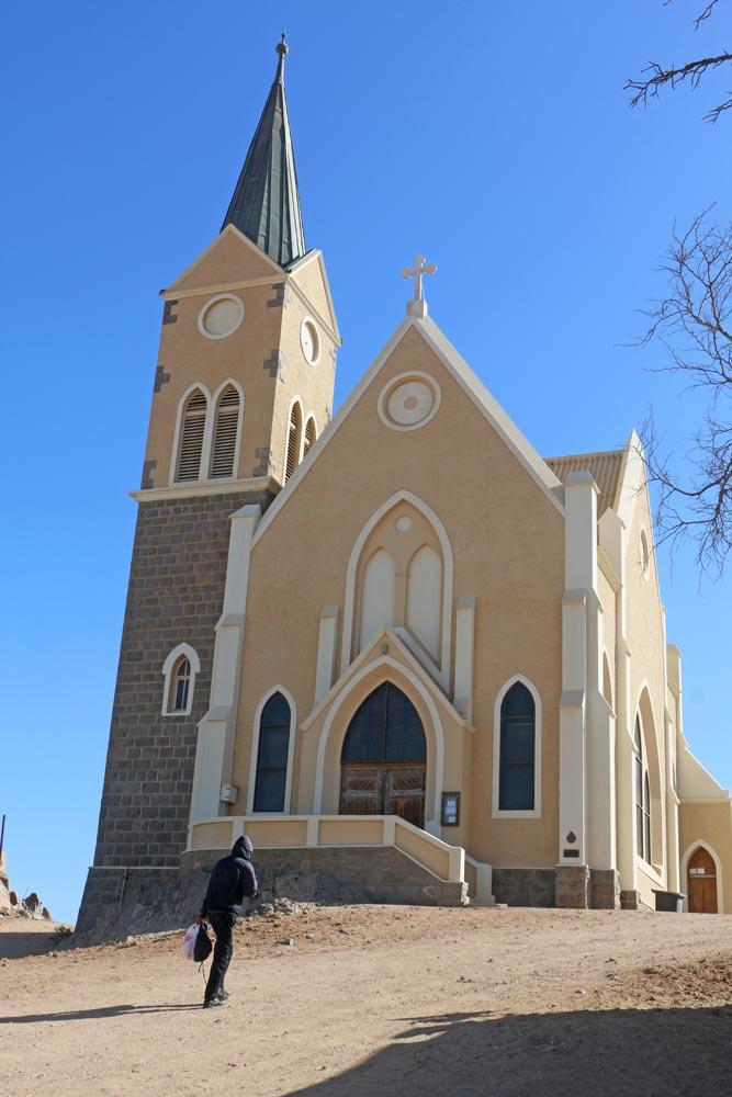 Felsenkirche in Luderitz, Namibia