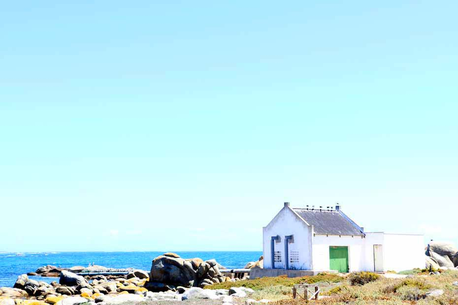 A small fisherman's house on the West Coast of South Africa