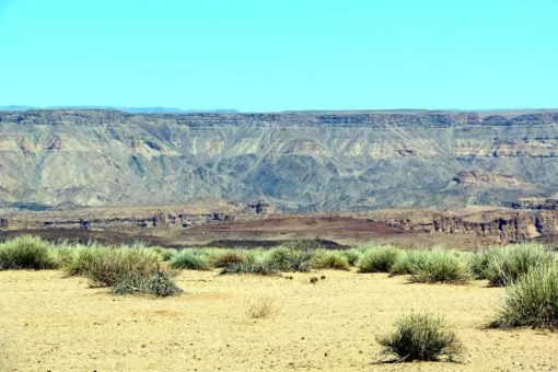 Fish River canyon view from the road.