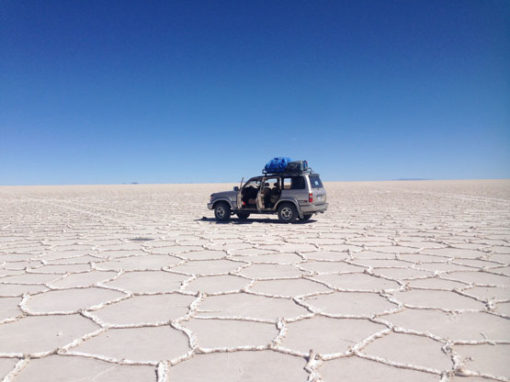 The Uyuni Salt flats is a photographer's paradise and was one of our highlights in South America.