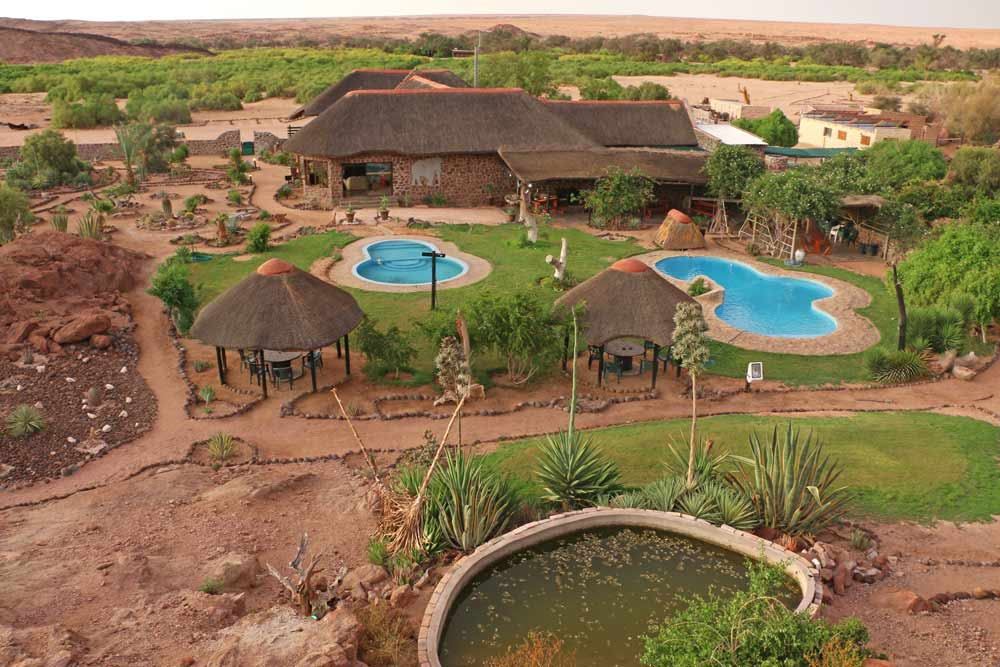 Brandberg lodge and campsite, Namibia