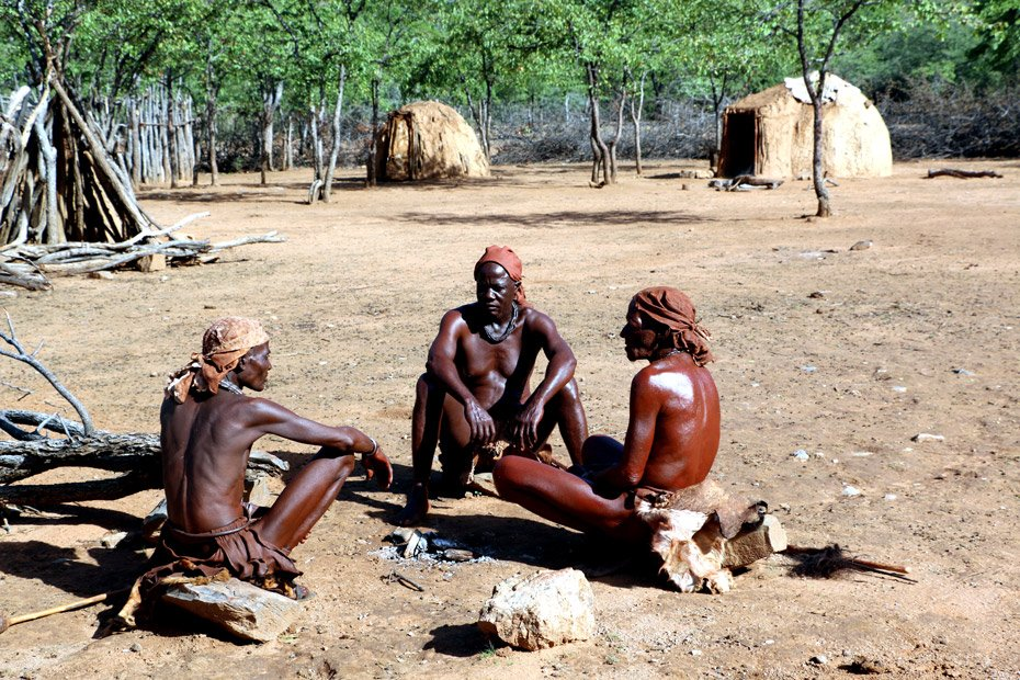 Camping with himba people (2)