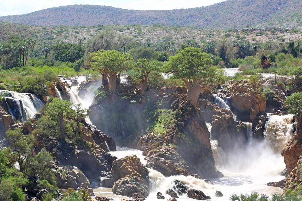 Epupa Falls is an off the beaten track place to visit in Namibia