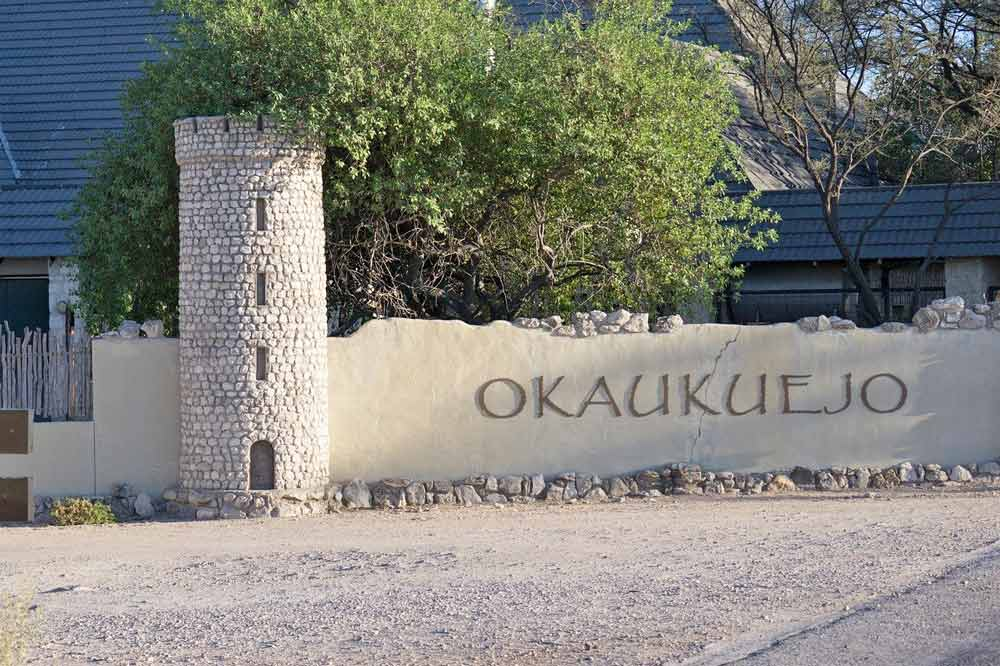 Okaukuejo in Etosha is one of the best campsites in Namibia for watching wildlife