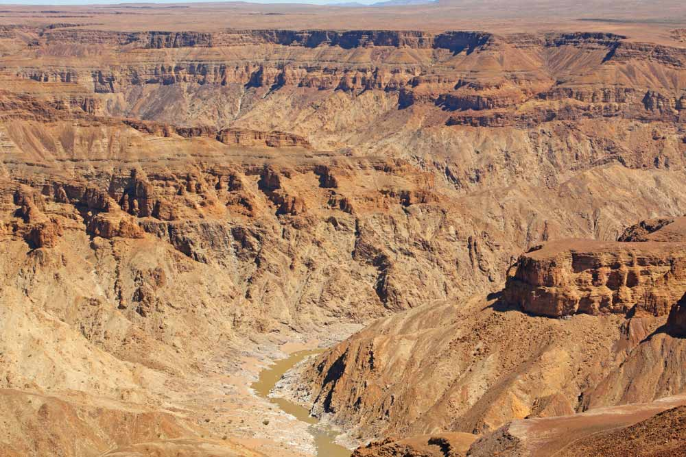 Fish River Canyon is one of the highlights of Namibia