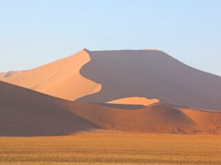 Sand dunes of Sossusvlei is not-to-miss in Namibia