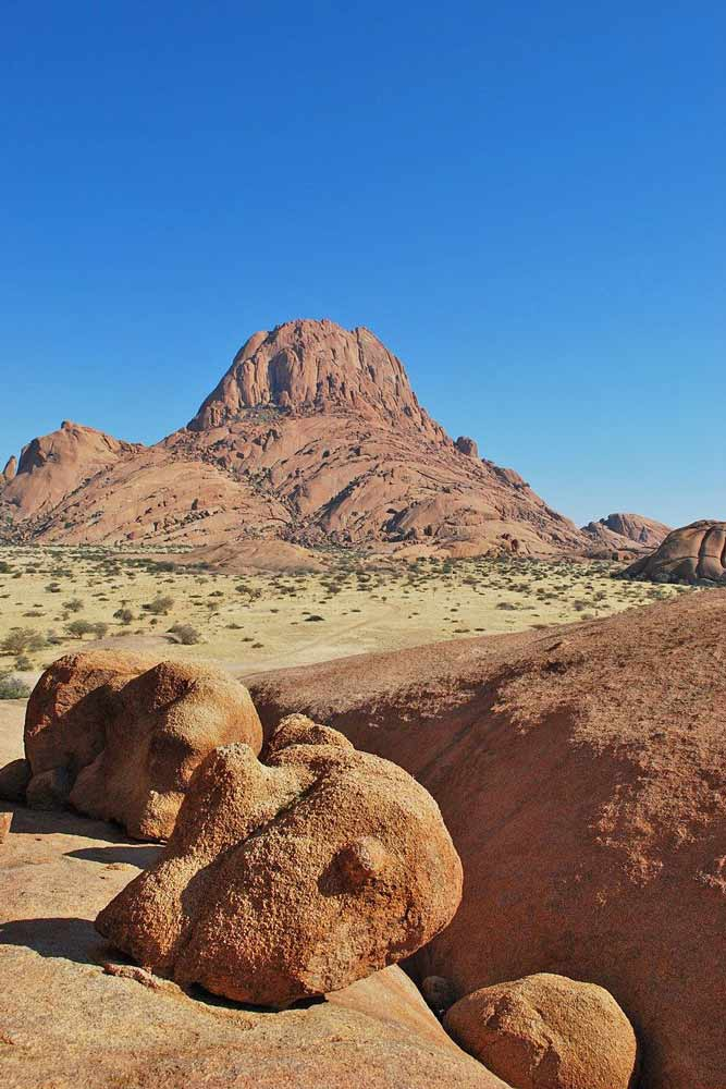 Scenery at Spitzkoppe, Namibia