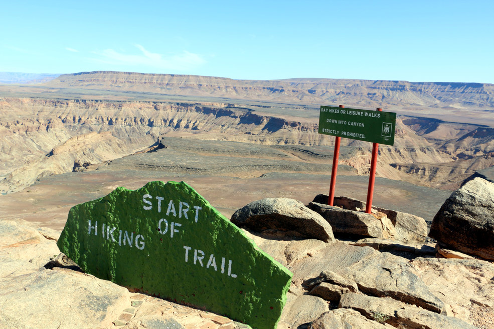 Fish River Canyon (Which Contains No Fish) - Nonbillable Hours